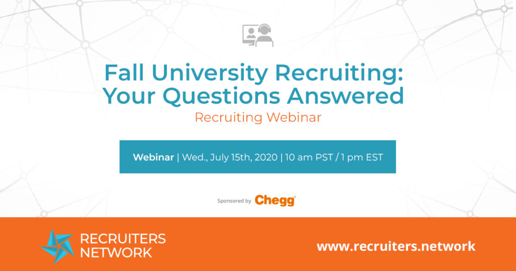 Fall University Recruiting: Your Questions Answered