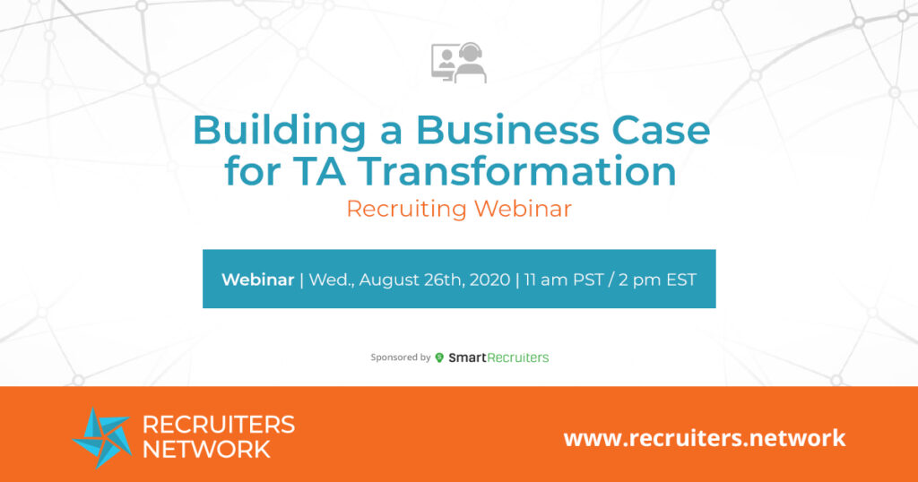 Building a Business Case For TA Transformation