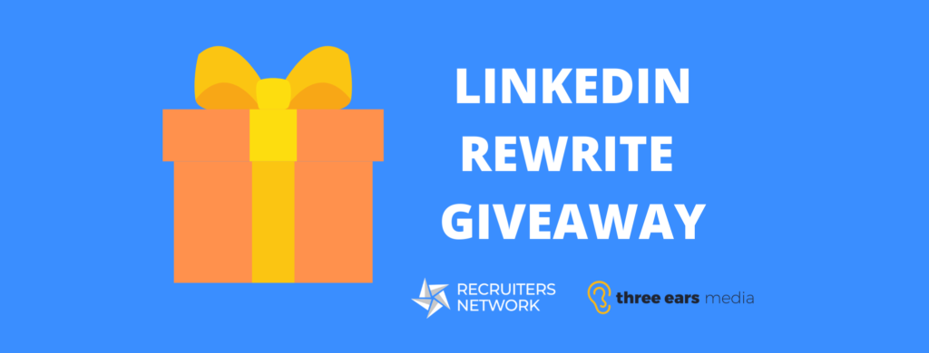 Linkedin Rewrite Giveaway